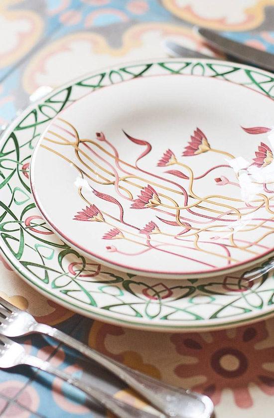 african tableware
