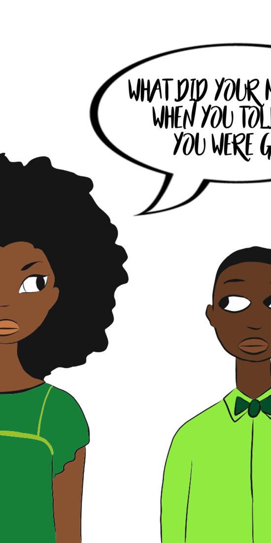 black gay comics