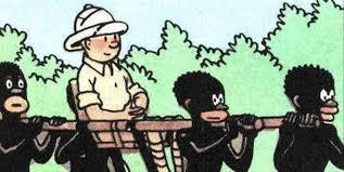 tintin au congo racist comic book