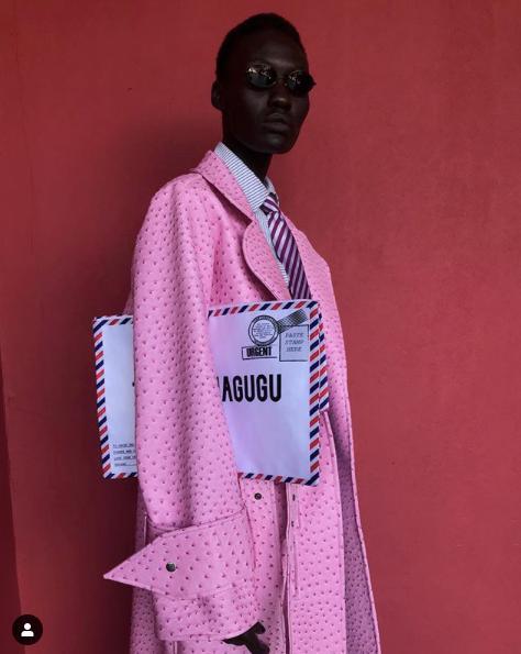 Thebe Magugu Coat