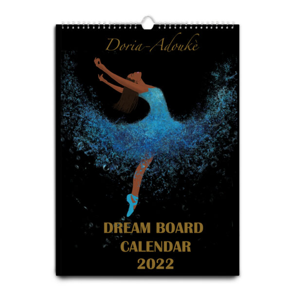 black art calendar 2022