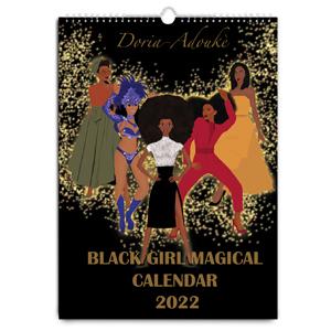 black-women-calendar-2019