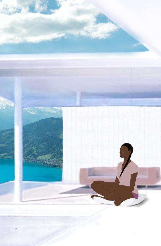 black girl meditation
