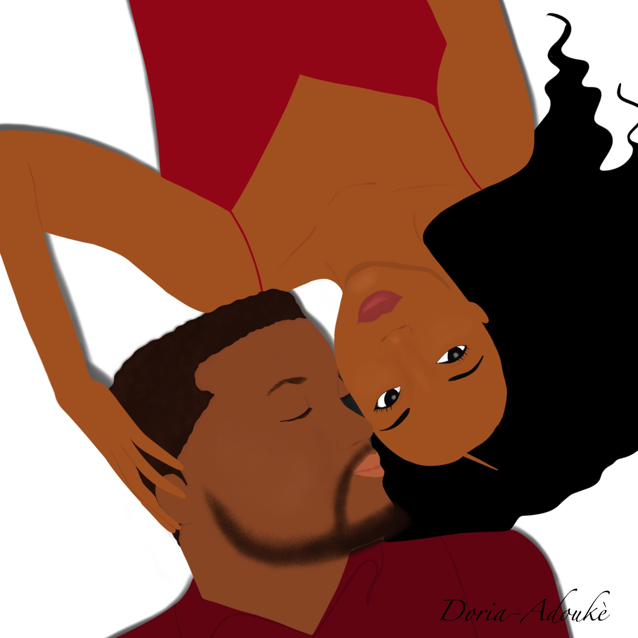 black love illustration