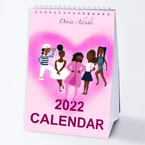 little black girl gift calendar