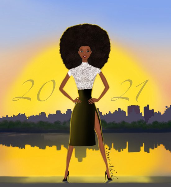 black women 2021 illustration