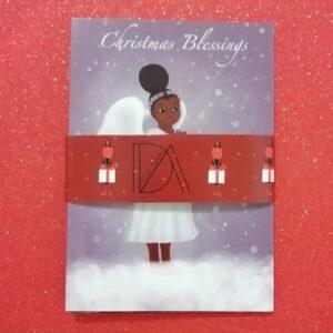 African American Christmas Card Box