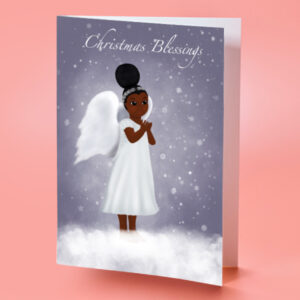 african american religious christmas card