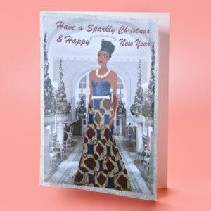 african christmas card
