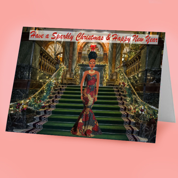 afrocentric christmas card