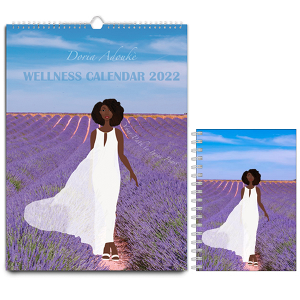 black woman wellness gift bundle