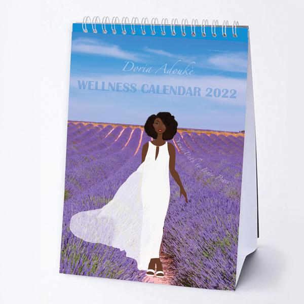 black women mindfulness calendar