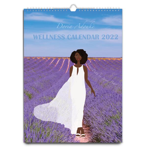 black women wellness calendar