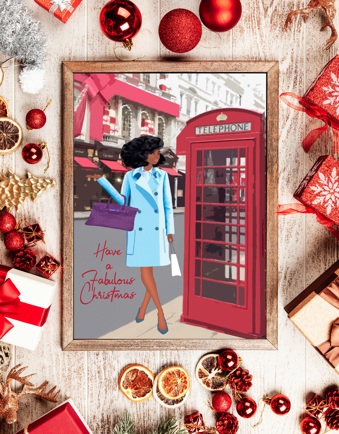 Chic Christmas cards