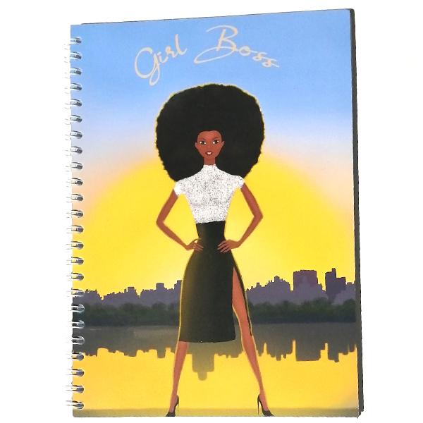 black girl boss notebook