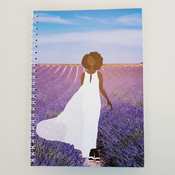 black woman wellness journal